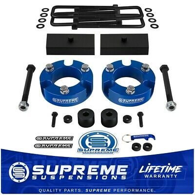 """3"""" Front + 1"""" Rear Leveling Lift Kit + Diff Drop For 2005-2020 Toyota Tacoma 4WD"""
