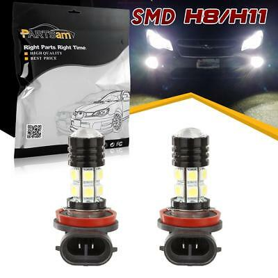 2pcs H8 H11 64211 Fog Driving Light Bulbs Xenon White High Power LED