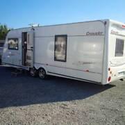 UK British lightweight ELDDIS CRUSADER SUPER SIROCCO 4 bt caravan Goulburn Goulburn City Preview