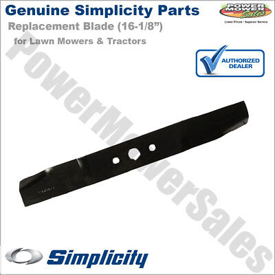 """1704856ASM 71704856 Simplicity, Snapper 16.5"""" Blade for Lawn Mowers & Tractors"""