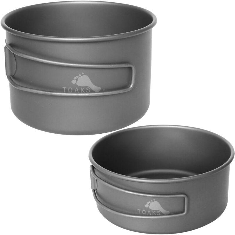 TOAKS Titanium 550ml Outdoor Camping Cooking Bowl