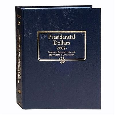 Whitman Classic Coin Album 2227 Presidential Dollars 2007-2016 P & D Mints