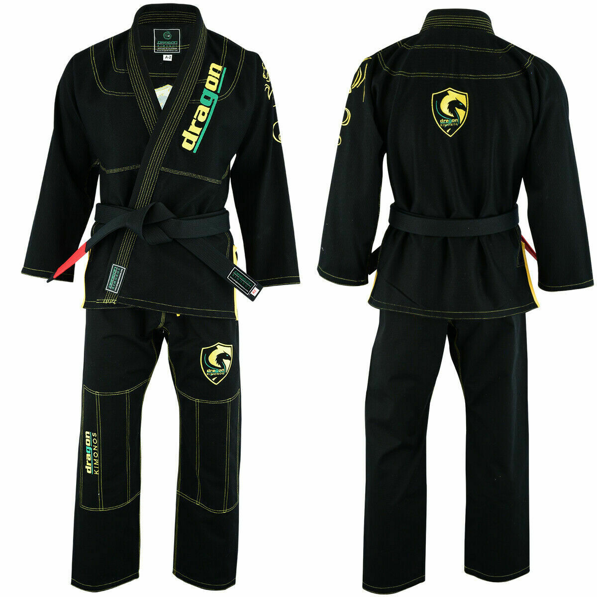 BJJ Gi For Men Women Brazilian Jiu Jitsu Gi Uniform Kimono A