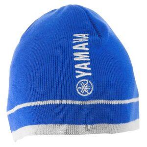 Yamaha Stone Cold Beanie in Blue - One Size - Genuine Yamaha - Brand New