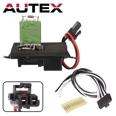 Heater Blower Motor Resistor w/Plug & Pigtail For 2002-2006 Avalanche 1500 2500