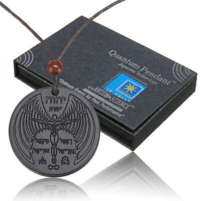 Quantum Scalar Energy Pendant Negative Ions Protection Magnetic Health Power ! for sale  Shipping to United States