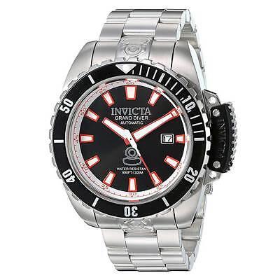 Invicta 21785 Men's Black Dial Steel Bracelet Automatic Watch