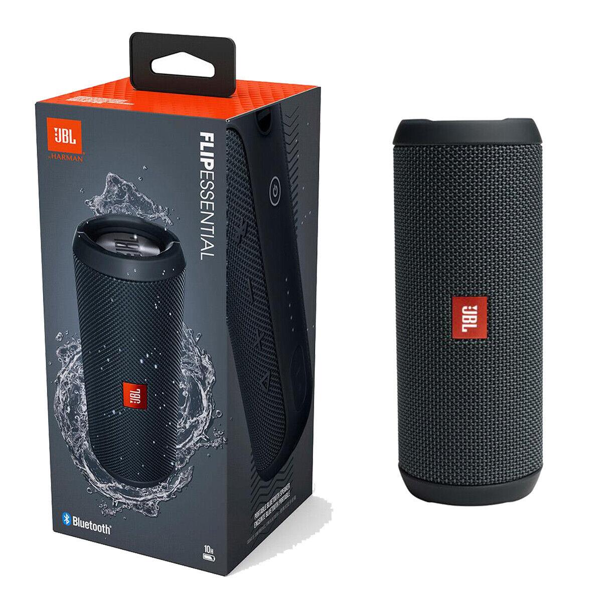 NEW JBL Flip Essential Portable Wireless Bluetooth Speaker Waterproof Black