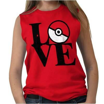 Love Go Geek Funny Cute Team Master Trainer Womens Muscle Tank Top T-Shirt Tee Womens Team Love T-shirt