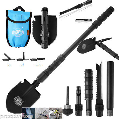 Multifunctional Camping Folding Shovel Military Tactical Outdoor Survival Spade