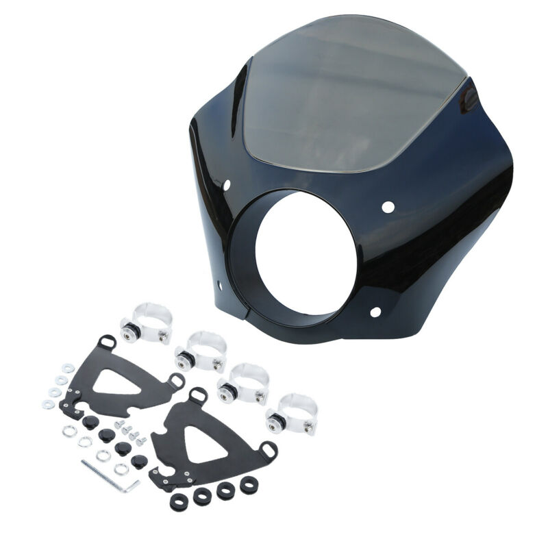 TCMT 49mm Gauntlet Fairing Trigger Lock Mount For Harley Dyna Low Rider Street Bob 49MM Trigger Lock Mount Kit