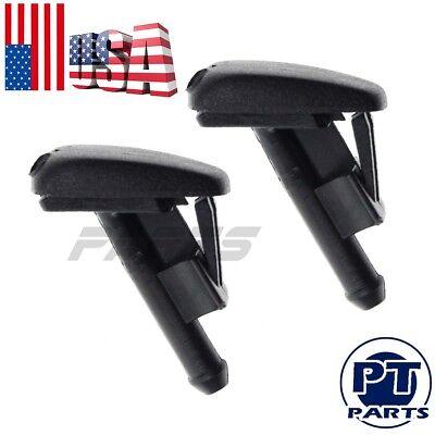 2x Windshield Washer Spray Nozzle For BMW 318i 320i 325i 328i M3 E36 Z3 3 Series