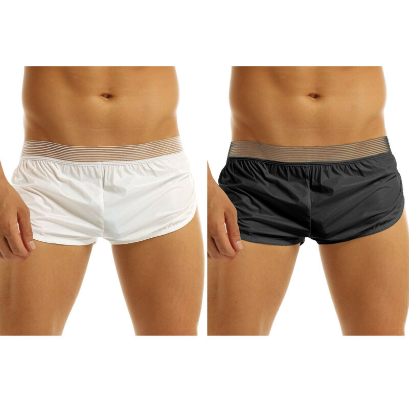 Men/'s Underwear Pouch Underpants Trunks Swim Shorts Bulge Swimwear Boxer Briefs