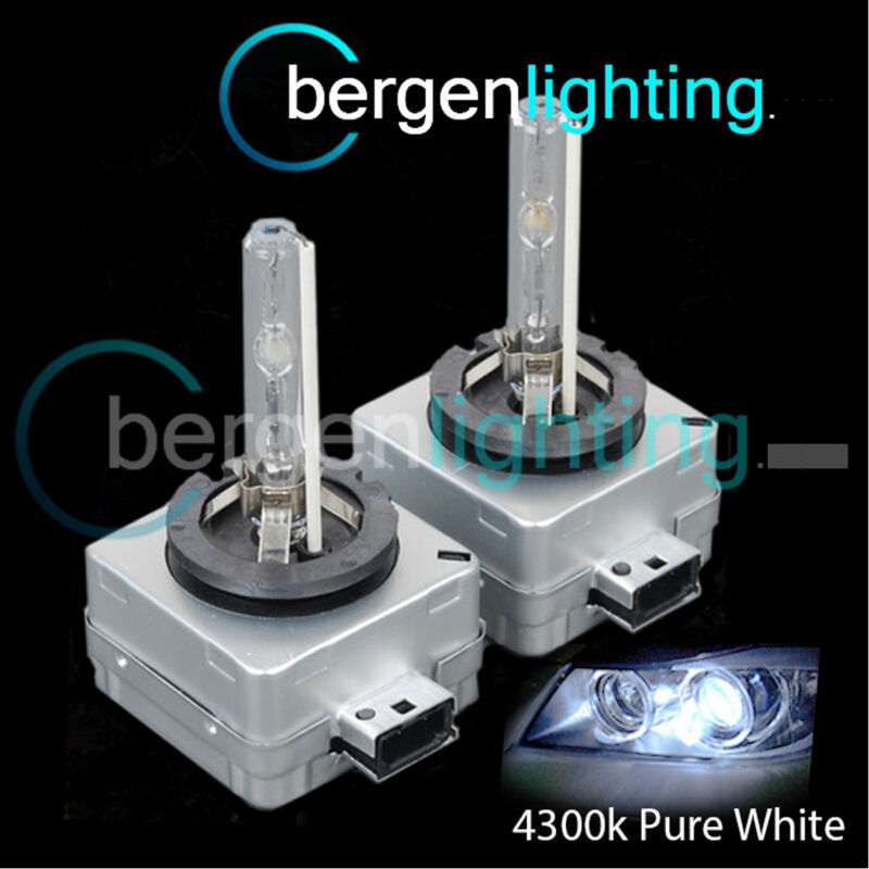 D3S WHITE XENON HID LIGHT BULBS MAIN HIGH BEAM 4300K 35W FACTORY OEM FITTED 3