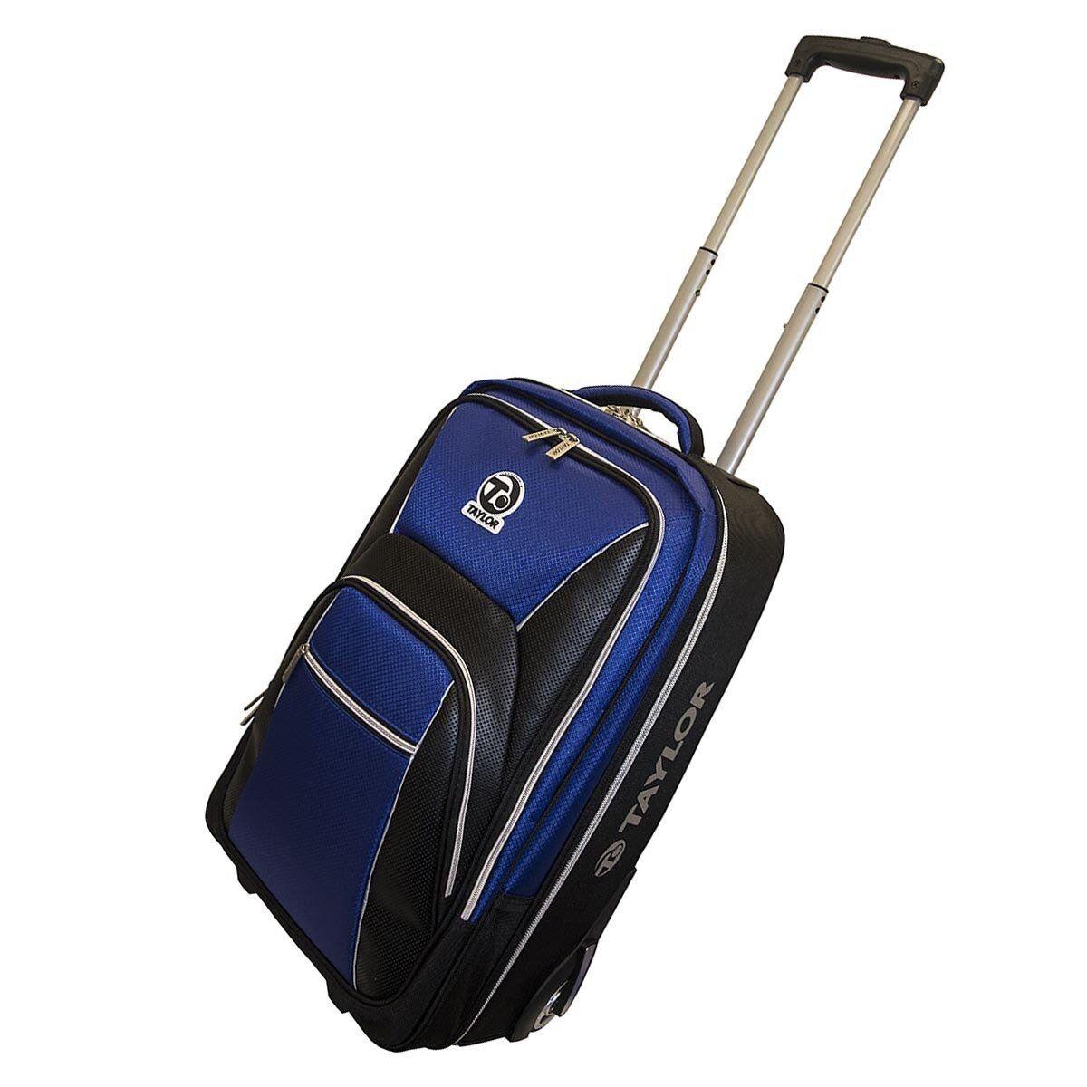 taylor bowls grand tourer trolley case lawn bowls bag travel luggage with wheels ebay. Black Bedroom Furniture Sets. Home Design Ideas