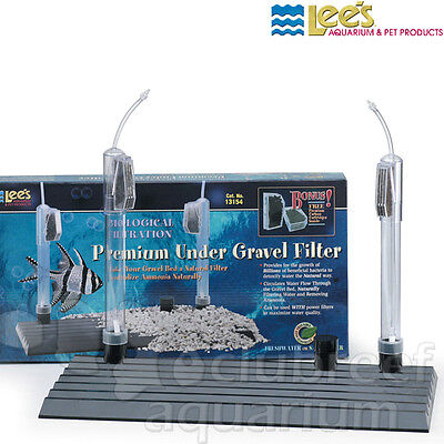Lees Undergravel Filter - Lee's 15/20 Gallon Aquarium Premium Undergravel UGF Filter 12