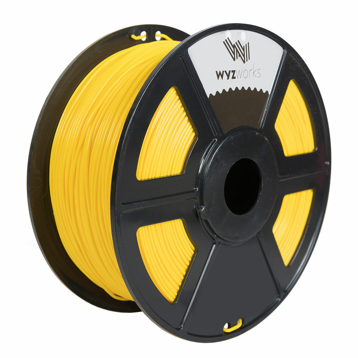 WYZworks 3D Printer Premium PETG Filament 1.75mm 1kg//2.2lb YELLOW