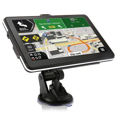 "Tvird SAT NAV 7"" 3D 32GB FM Car GPS Navigator System Navigation + Lifetime Maps"