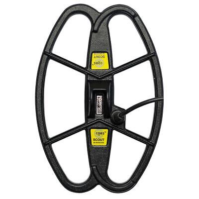 """Cors Scout 12.5""""x8.5"""" Coil Minelab X-Terra All 2 frequencies (7,5 / 18,75 kHz)"""