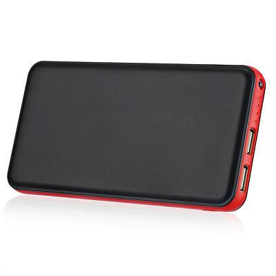 Dual USB Portable Charger 20000mAh Power Bank External Batte