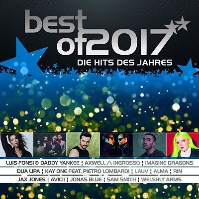 BEST OF 2017-DIE HITS DES JAHRES, AVICII, ALMA, IMAGINE DRAGONS,RIN 2 CD NEW+