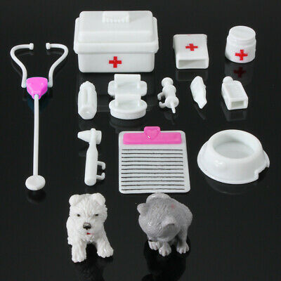 14Pcs Mini Medical Doctor Toys Equipment For Barbie Fashion Doll Accessories US](Doctor Accessories)