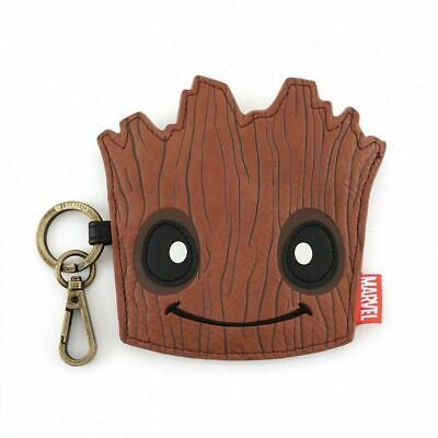 Official Loungefly Marvel Guardians of the Galaxy Groot Coin Purse Clip On