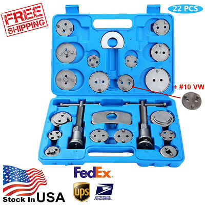 (22pcs-(#10) included-Disc Brake Caliper Tool Set/Wind Back Kit for Brake Pad)