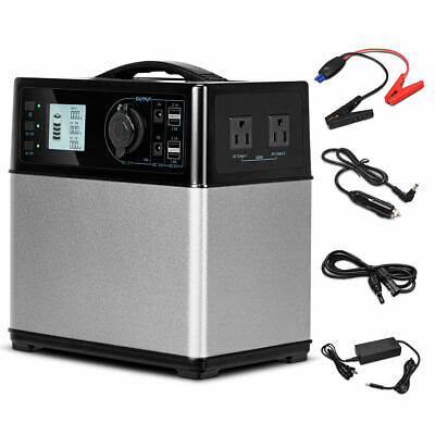 400Wh Portable Solar Power Generator Supply Energy Storage 4*USB/2AC&DC (Solar Portable Power)