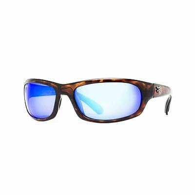 58355df788 Calcutta SH1BMTORT Steelhead Sunglasses Tortoise Frame Blue Mirror Lens