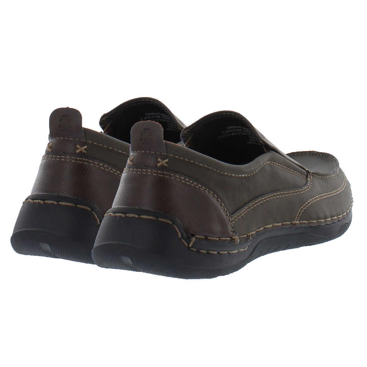 Izod Thomas Men's Slip On Shoe Memory Foam Flexible LightWeight Loafer 1
