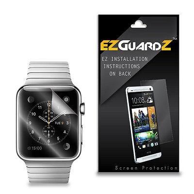 4X EZguardz LCD Screen Protector Skin Cover Shield HD 4X For Apple Watch 42mm