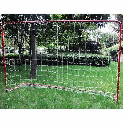 XL Fussballtor mit Netz und Fußball 180x120cm Garten Camping Strand Ball Tor