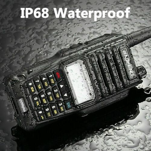 18W Baofeng UV-9R Plus VHF Powerful Dual-Band FM Ham Talkie Two way radio Walkie