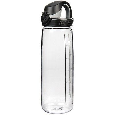 10a27e06ae Nalgene Tritan On the Fly Water Bottle - 24 oz.- Clear/Black