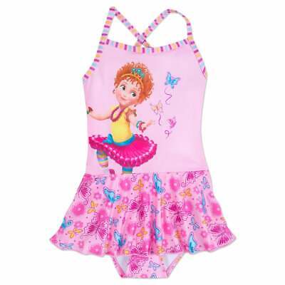 NWT Disney Store Fancy Nancy Swimsuit Girls 1 pc UPF 50+](Disney Swimwear Girls)