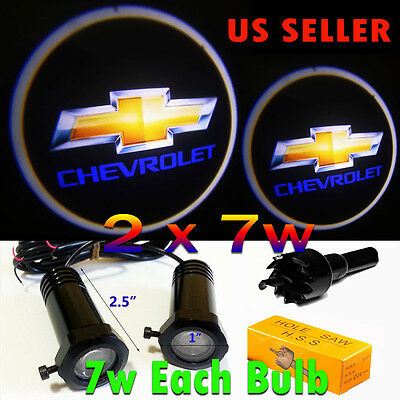 Led Ghost (2x7w Ghost Shadow Laser Projector Logo LED Light Courtesy Door Step)