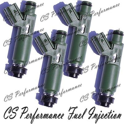 Denso Flow Matched Fuel Injector Set for Toyota-Chevy 1.8 23250-22040 (4)