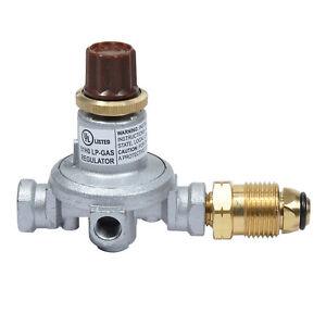 mr heater f273719 high pressure propane regulator adjustable 0 60 psi ebay. Black Bedroom Furniture Sets. Home Design Ideas