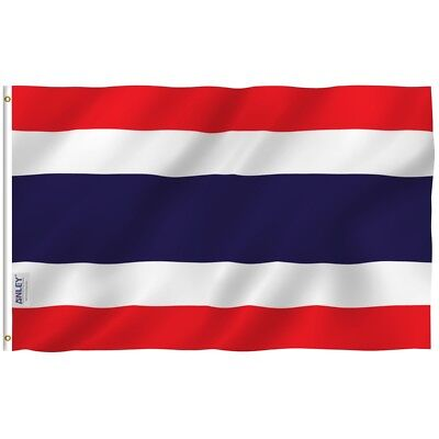 ANLEY Thailand Flag National Banner Polyester 3x5 Foot Country Flags