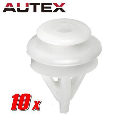 - 10 pcs Trim Panel Seat Back Cover Fastener Retainer Clips for Acura Honda Civic