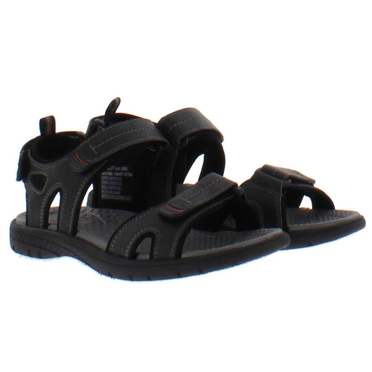 Khombu Mens Adjustable Strap Traction Sport River Sandal