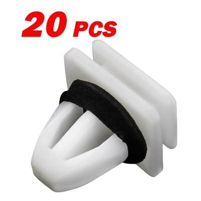 20 Panel Rocker Bumper Moulding Body Skirt Clip Fastener for Honda Odyssey