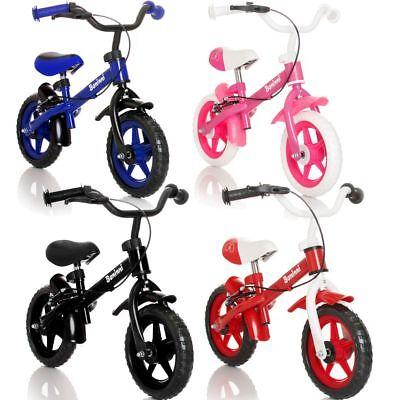 BANINNI Laufrad Kinderlaufrad (MIT BREMSE) Kinder Roller Fahrrad Lernlaufrad Rad