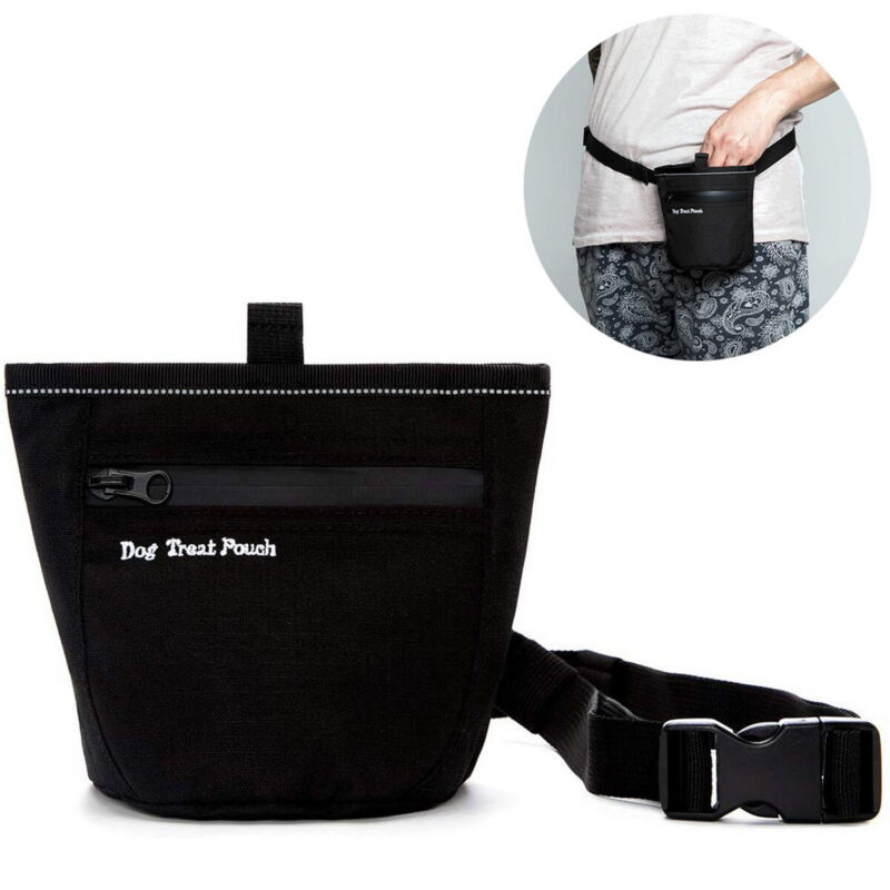 Dog Treat Pouch Carrier Holder for Training Doggie Puppy Bait Treat Snack Bags