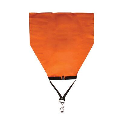 Open Bottom Lift Bag (XS SCUBA 50 Lb. Roll Up Open Bottom Lift Bag, 4 Inch Bolt Clip, Dive Salvage )