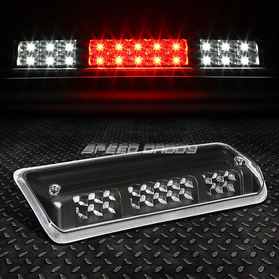 FOR 04 08 FORD F150 DUAL ROWS LED THIRD 3RD TAIL BRAKE LIGHT CARGO LAMP BLACK