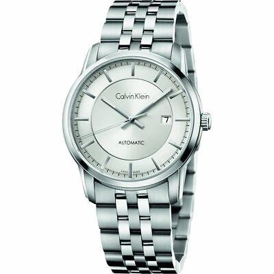 Calvin Klein Men's Infinity Swiss Automatic Watch K5S34146