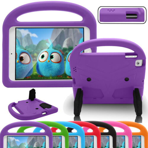 For Apple iPad 2 3 4 Rugged Kids Shock Proof Soft Rubber Sta