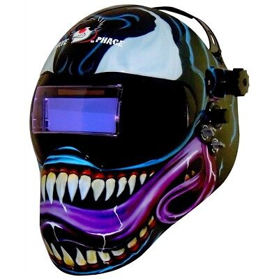Save Phace 3012145 Marvel Venom Auto Darkeningwelding Helmet